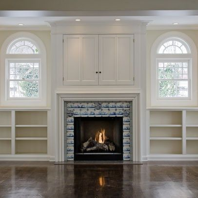 tv above fireplace design ideas | Salt Lake City Home Tv ...