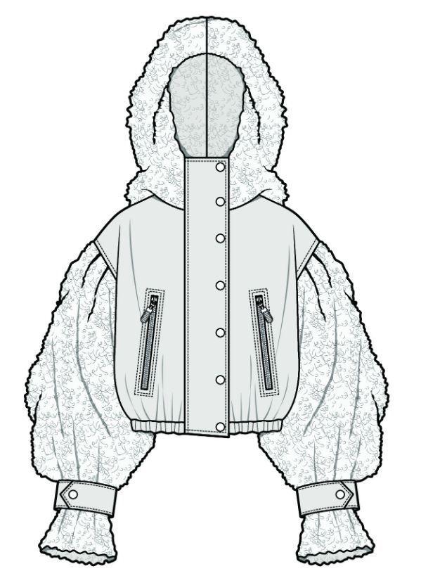 Modedesign Zeichnen In 2020 Mode Design Vorlage Technische Zeichnung
