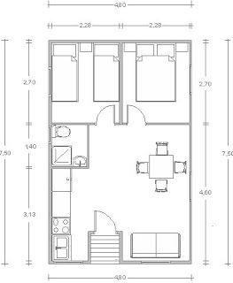 Una Casa De Campo Muy Moderna A La Que No Le Falta Nada Planos