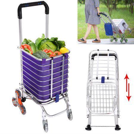 Folding Swivel Wheel Grocery Laundry Cart Travel Shopping Cart Aluminumhdpml Folding Shopping Cart Shopping Cart Laundry Cart