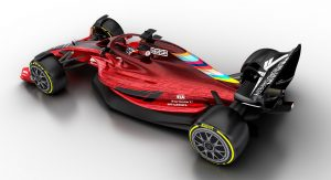New F1 2021 Rules Bring Cost Caps To Level The Playing Field Plus Sexier Car Designs Carscoops Formula 1 Car New Cars Formula 1
