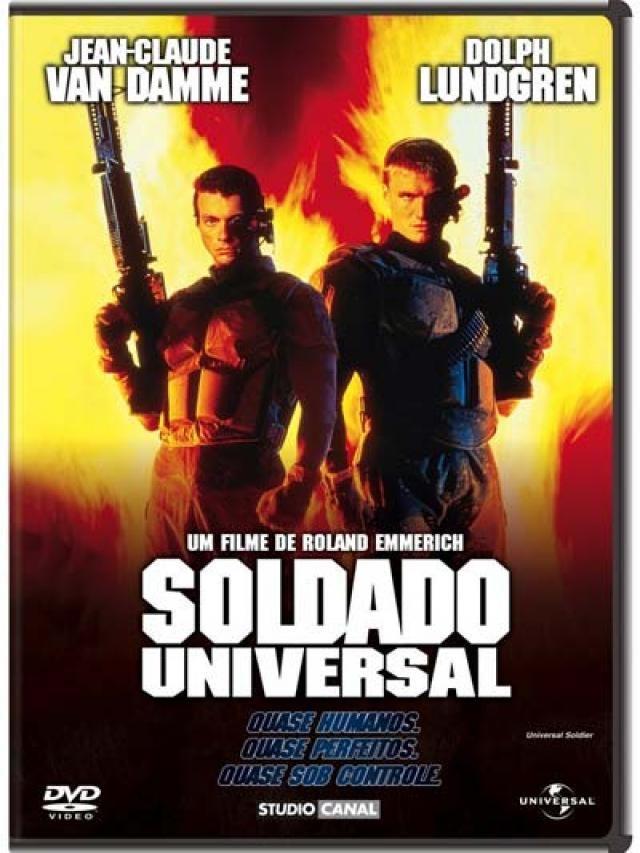 Soldado Universal 1 Soldado Universal Capas De Filmes Van Damme