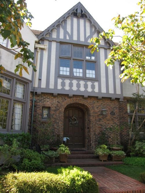 Tudoring lessons from piedmont design board tudor - Tudor revival exterior paint colors ...