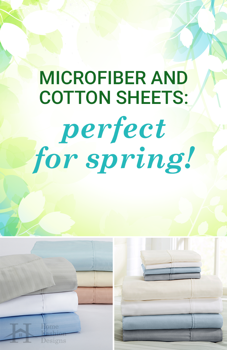 How to Pick the Perfect Spring Sheets | Blue grey