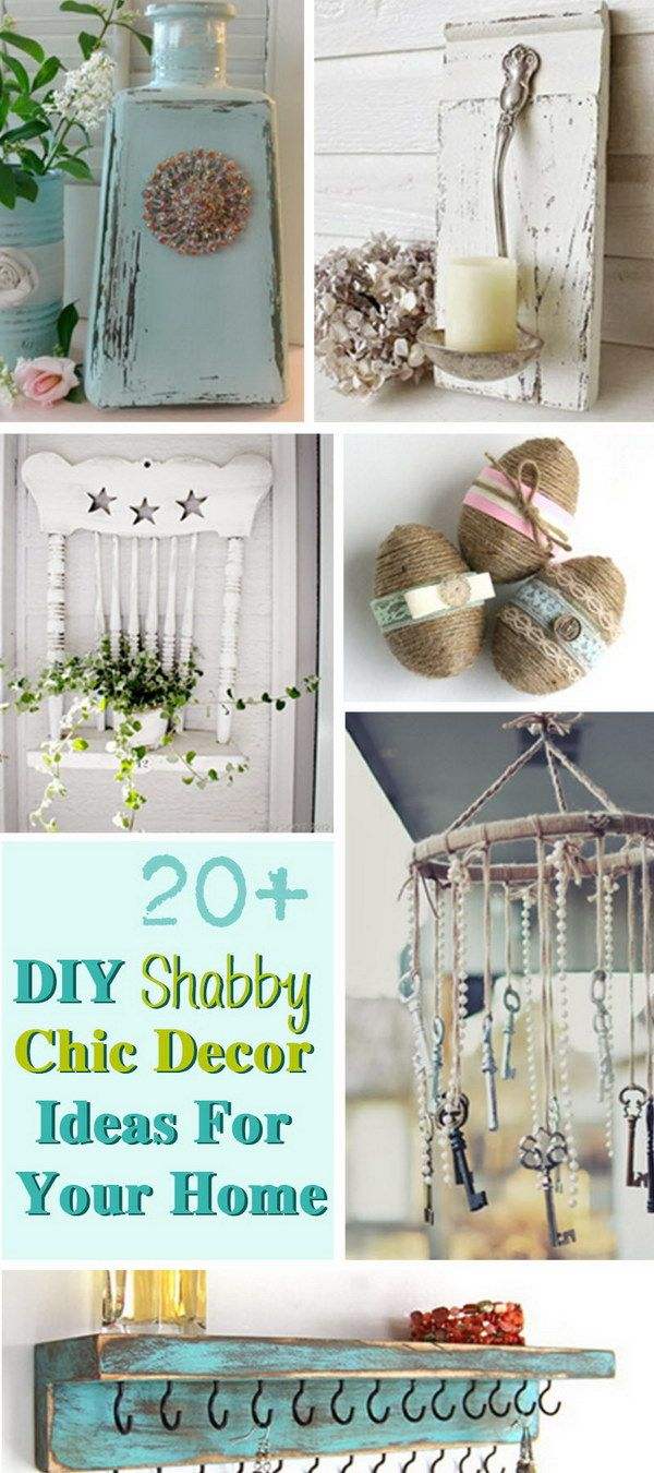 Diy Shabby Chic Decor diy shabby chic decor ideas for your home! (with images