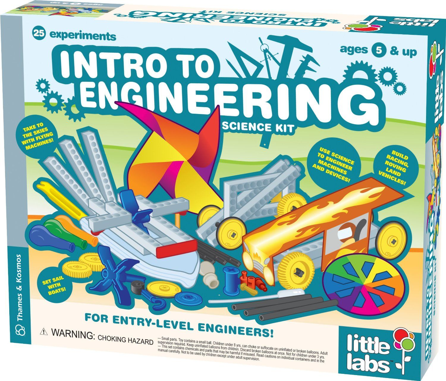 Little Labs Intro to Engineering Kosmos Amazon Toys