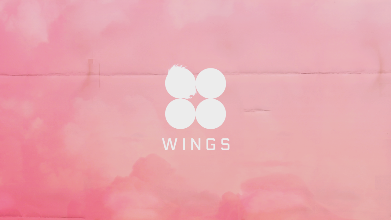 Wings Pink Desktop Background Aesthetic Desktop Wallpaper Bts Wallpaper Desktop Desktop Wallpapers Tumblr