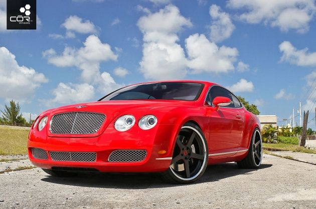 2005 Bentley Continental GT with COR Modell wheels by www.Dream-car.tv, via Flickr