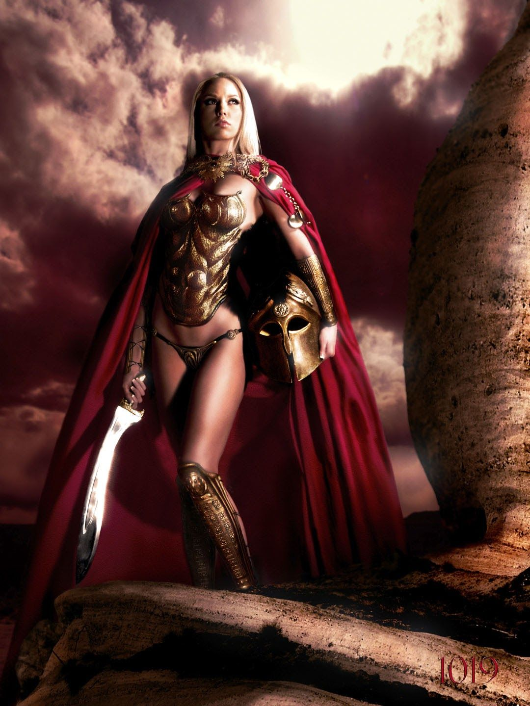Spada Wonder Woman Big Quotbad Quot Wolf The Girls Of Sparta Super Sexy Hero