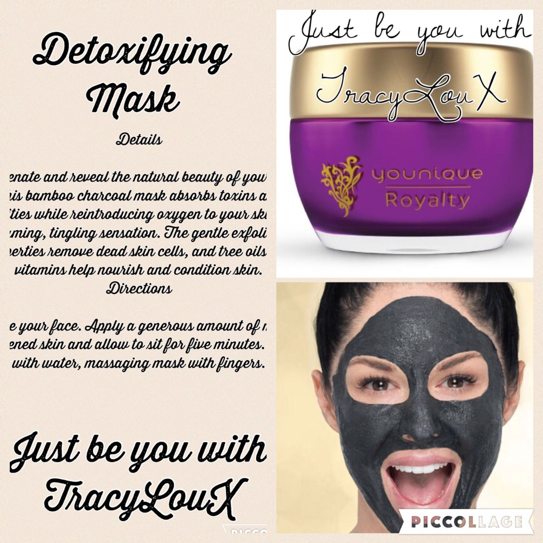 Detox Your Skin With This Diy Charcoal Mask: Royalty Detoxifying Mask Bamboo Charcoal ϸ� Rejuvenate And