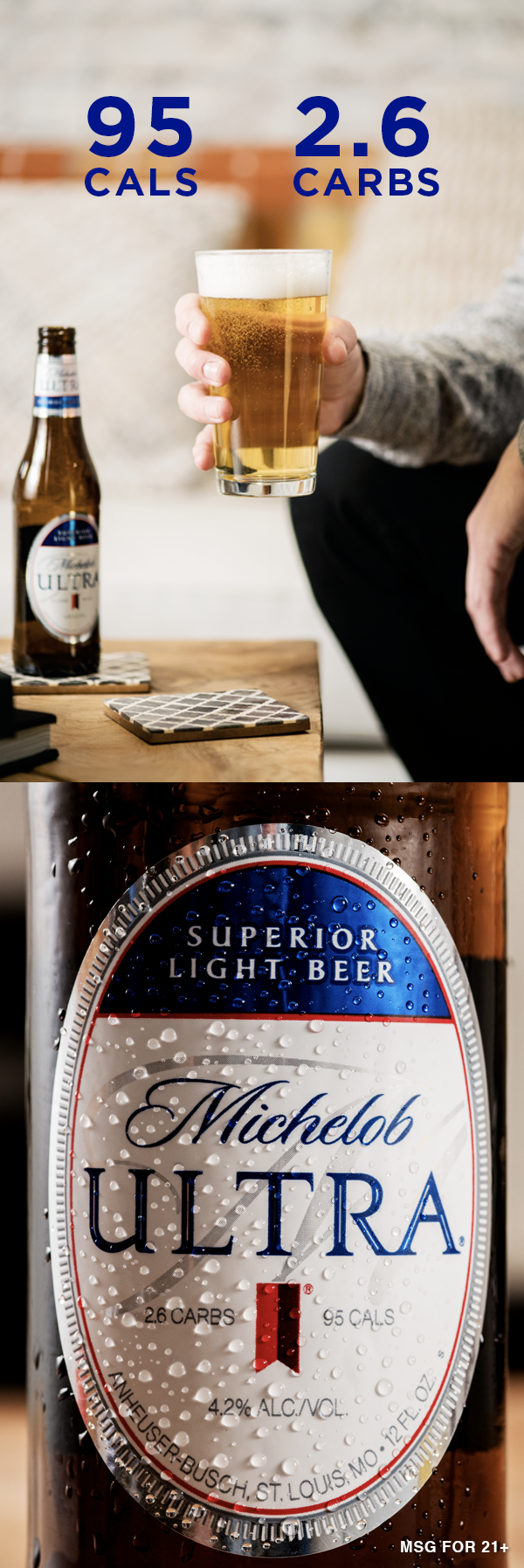 Seize A Crisp Refreshing End To The Day Michelob Ultra Carbs Diabetes Diet Plan