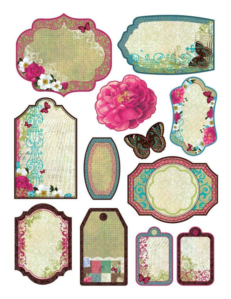 Crazy image pertaining to free printable scrapbook cutouts