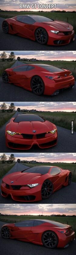 BMW gt m1 concept