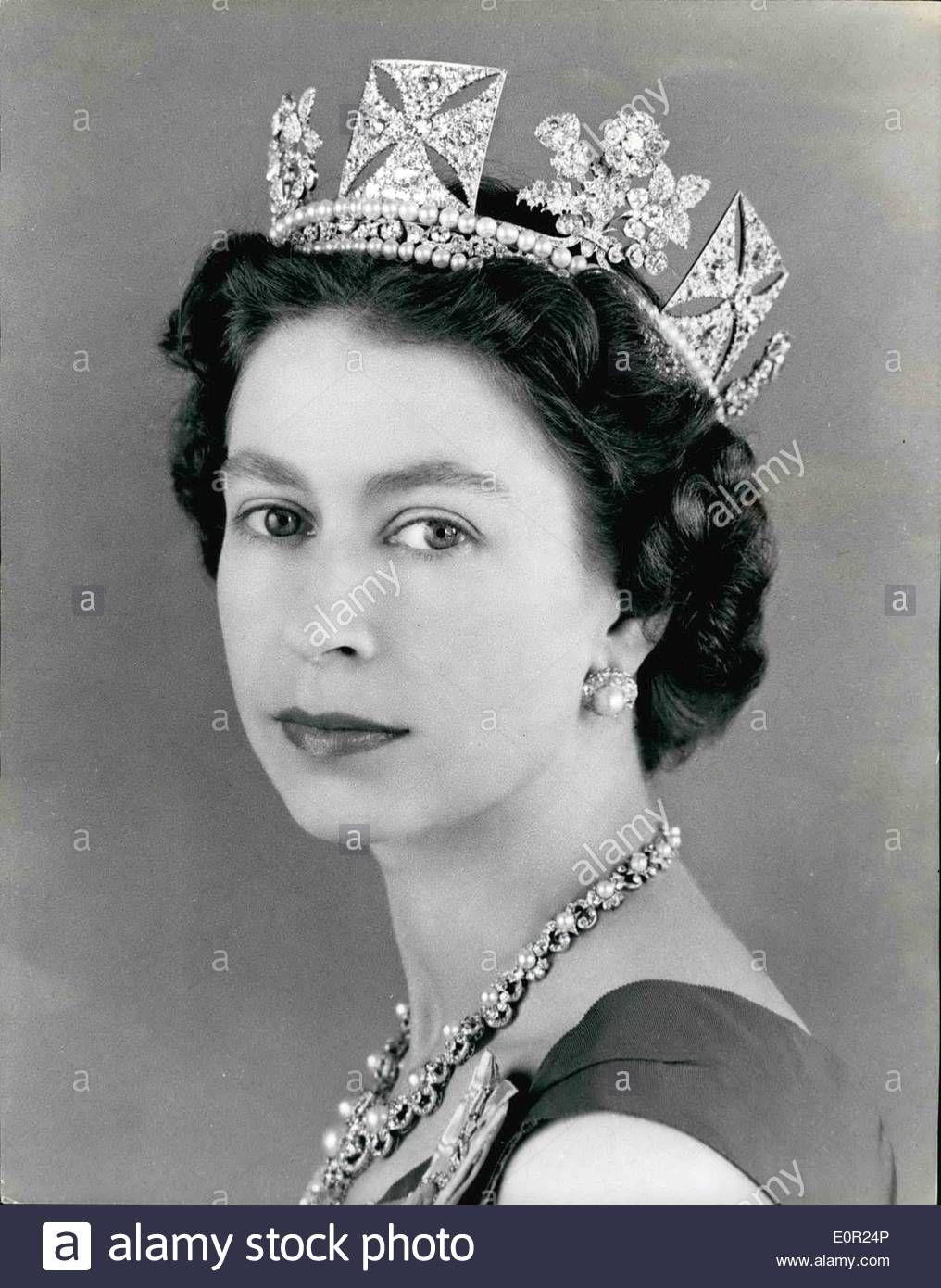 Oct 10 1957 H M Queen Elizabeth Ii Her Majesty S Jewels Are Diamond