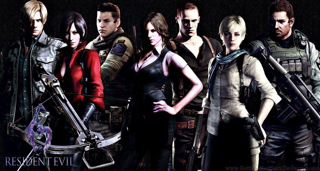 Resident Evil 6 Cast Wallpaper By Betthinaredfield On