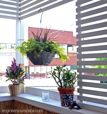 Small Deck Decorating Ideas Tiny Balcony Privacy Screens