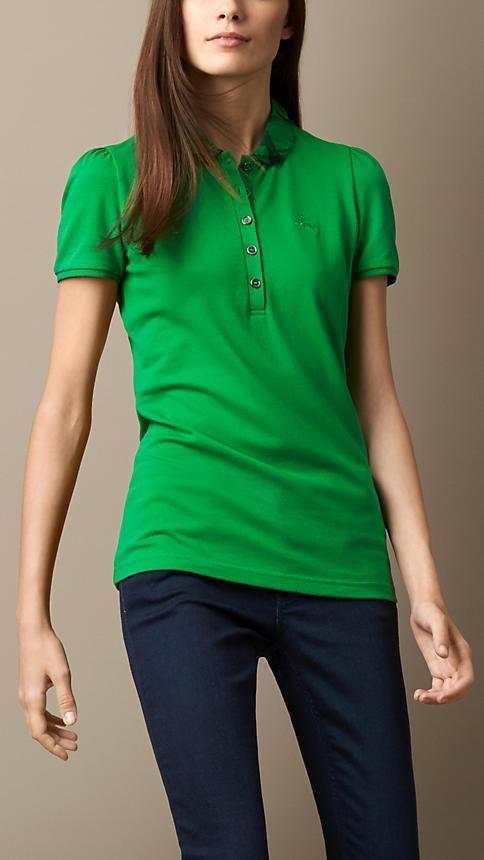 0e595350c Burberry London Check Collar Polo Shirt
