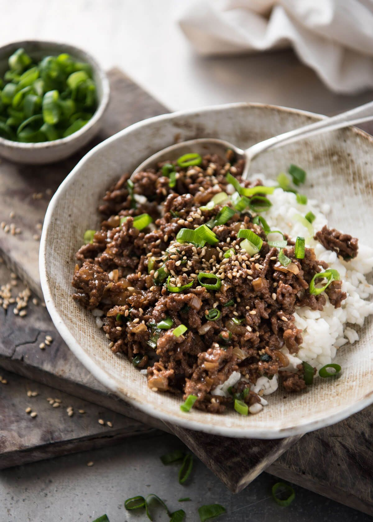 Asian Beef Bowls Super Quick Recipe Asian Beef Recipetin Eats Beef Bowls