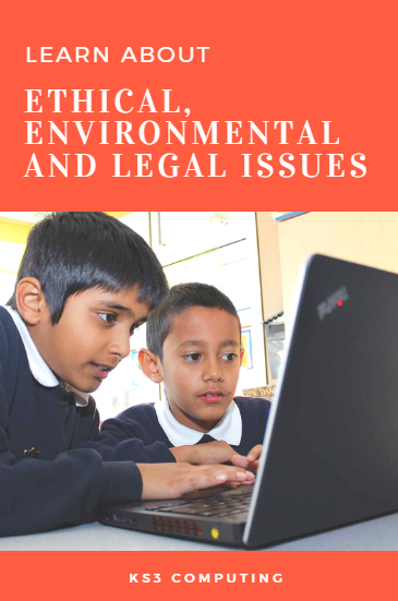KS3 Scheme of Work for Computing ethics, laws and