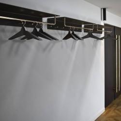 Photo of Frost Unu Wandgarderobe mit 2 Haken weiß/poliert FrostFrost | Anbau Haus Wohnzimmer