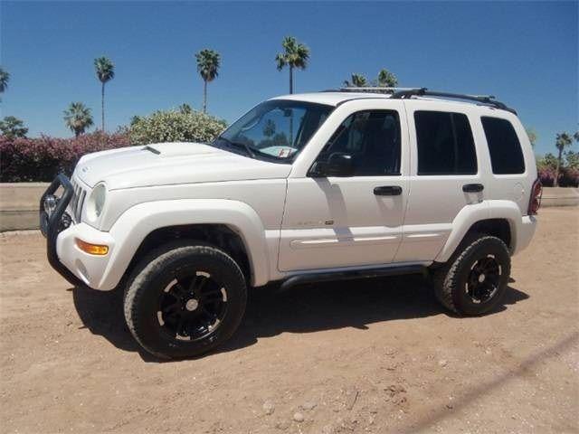 Custom Jeep Liberty Grill Used 2003 Jeep Liberty Limited 4x4 For Sale In Mesa Az Vip Auto Jeep Liberty Jeep Custom Jeep