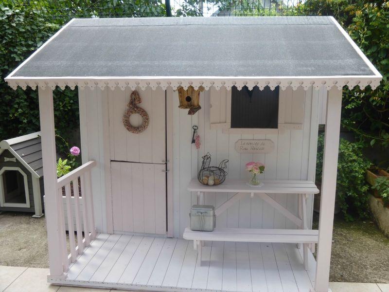 Visite du cottage le cottage de rose petticoat for the home kids house wendy house et - Plan pour maisonnette en bois ...