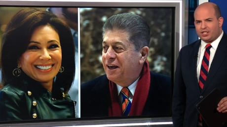Stelter looks at a tale of two Fox News judges Fox news