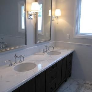 How To Paint Bathroom Cabinets Espresso redroze's renos - bathrooms - gray walls, gray paint, gray paint