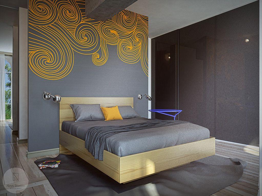 37 hálószoba fal inspiráció és ötlet minden stílusban, #ablak ...