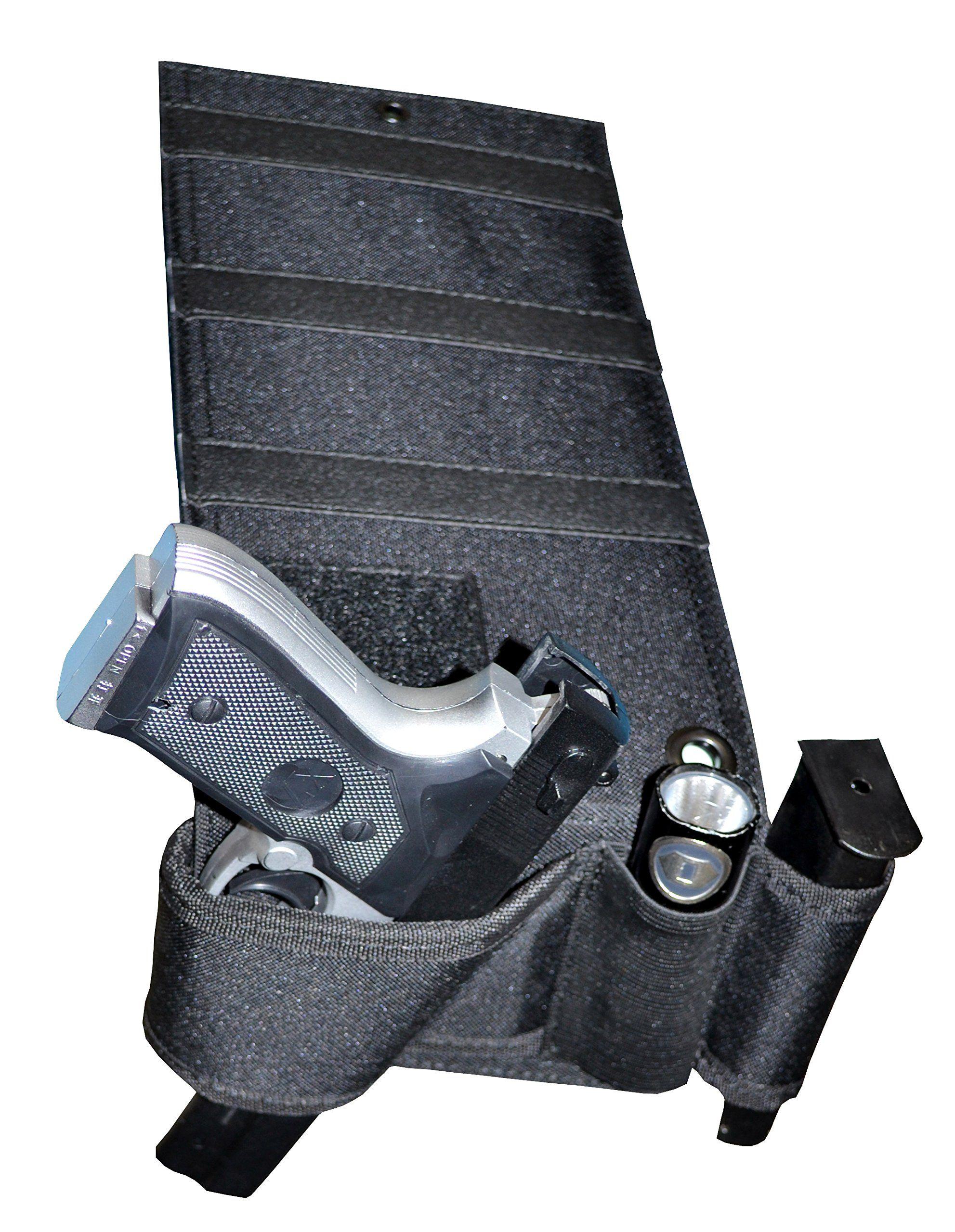 Under Mattress Bed Handgun Holster with Tactical