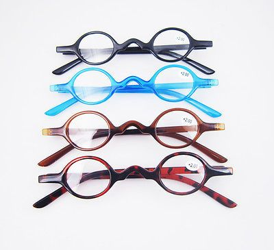 5a1f9cd283 Designer-Small-round-Oval-Vintage-Reading-Glasses-Eyeglasses-Readers -CE-1-2-3
