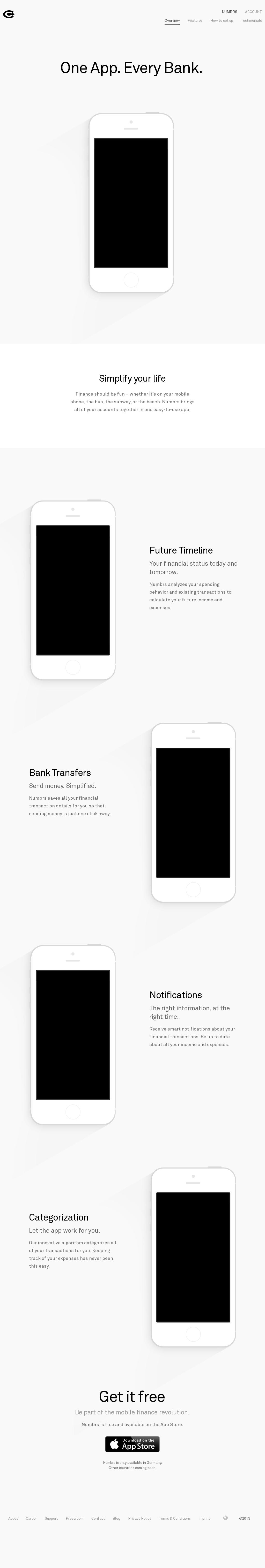 Centralway - Online Banking App full screen picture otherwise very plain
