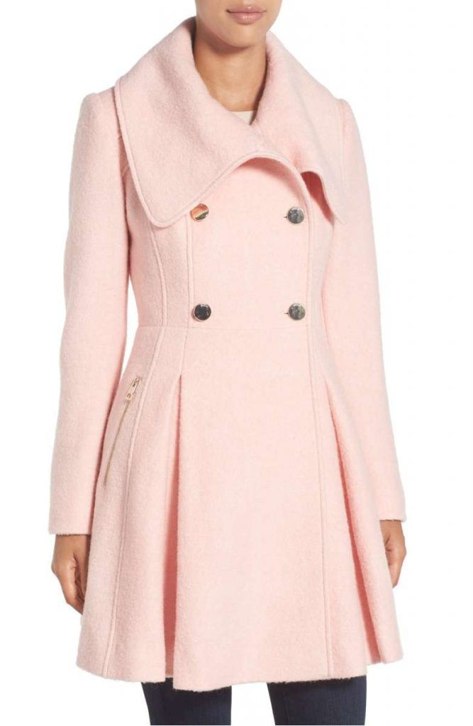 Perfect Pink Coat: Wardrobe Wednesday (on Thursday | Home