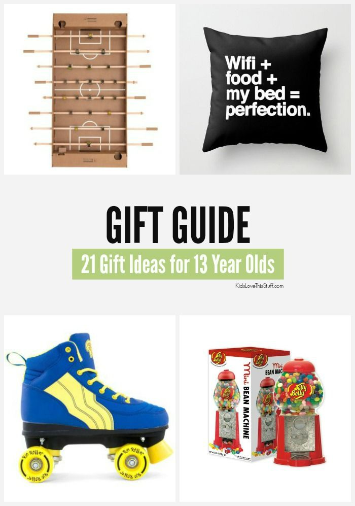 2015 Edition 21 Gift Ideas For 13 Year Olds Cool Stuff Boys And Girls