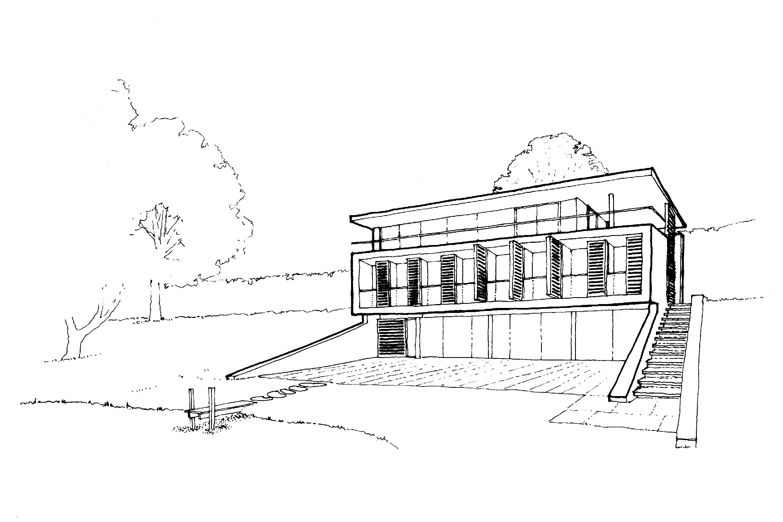Bowmans sketch scheme - Adrian James Architects, Oxford