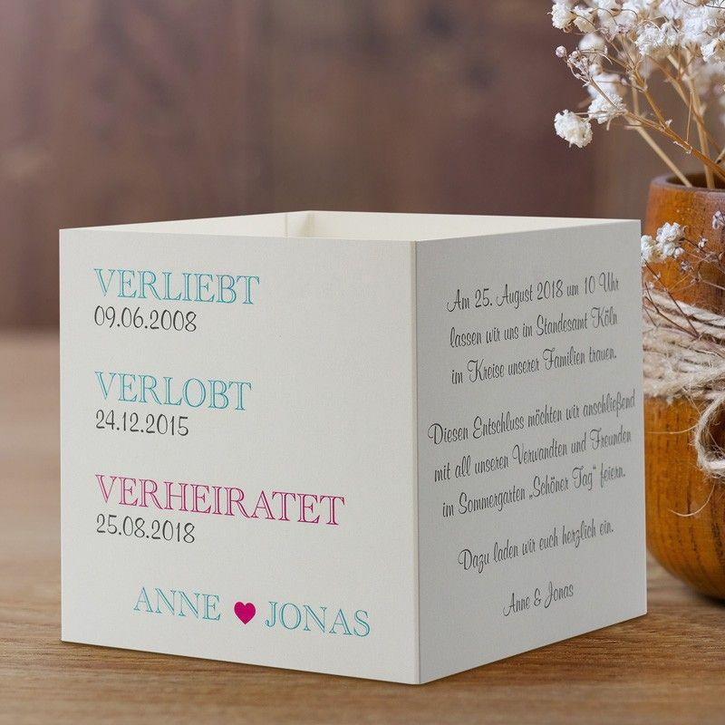 #Einladungskarte Würfel Verliebt Verlobt Verheiratet: Https://www.meine