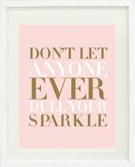 cause you sparkle babe ;)