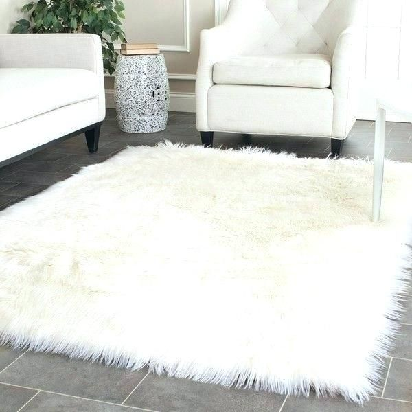 Shaggy White Rug White Shag Rug Fluffy Rugs Bedroom White