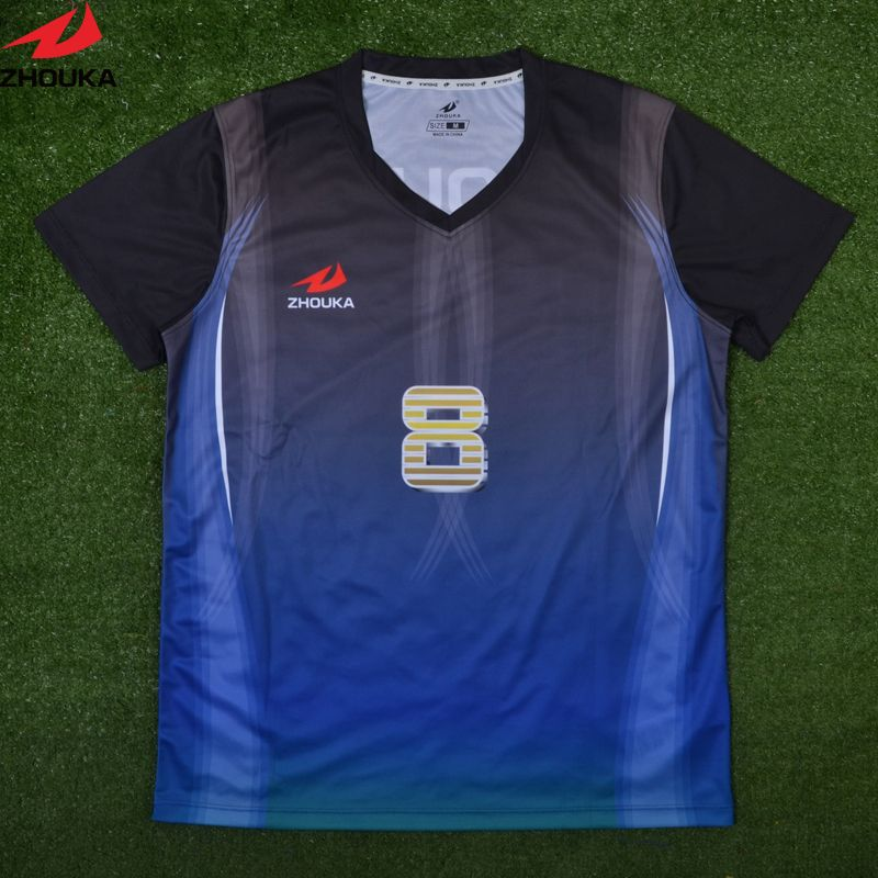 da830fddb Zhouka custom football Jersye Sublimation printing personalized soccer  jersey any color patter jersey custom as your own design