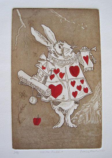 White Rabbit, Alice in Wonderland
