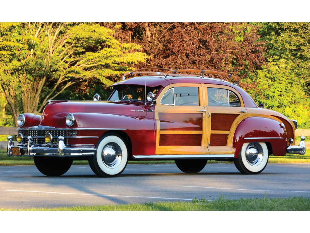 1947 Chrysler Town And Country Sedan Chrysler Town And Country