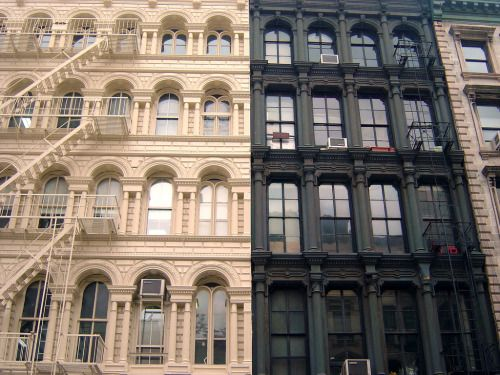 Apartment Building. New York ...