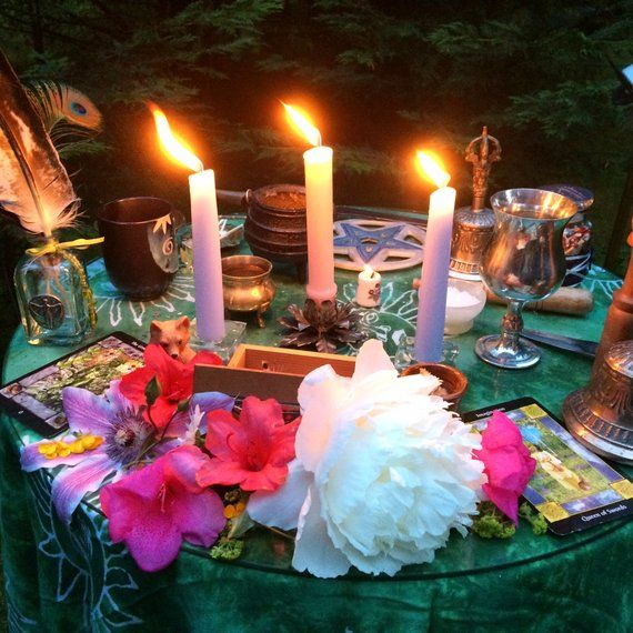 Halloween Wedding Altar: Sacred Space