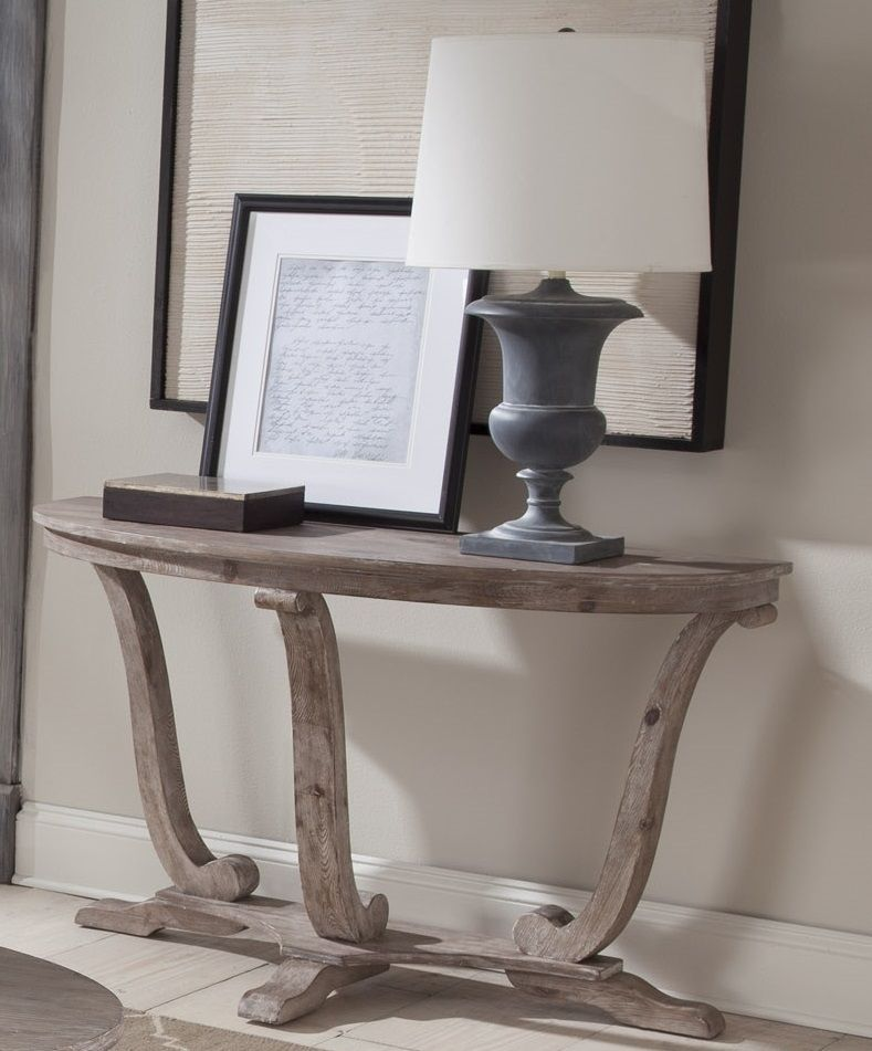 Liberty Furniture Greystone Mill Sofa Table In Stone White 154 Ot1030 Est Ship Time Is 4 Weeks Sofa Table Liberty Furniture Furniture