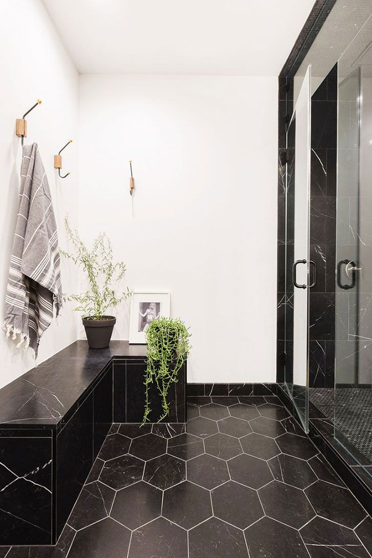 Cool Industrial Loft In Austin Texas Pinterest Bathroom Black