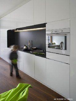 Küche Nische (mit Bildern) Hochschrank küche, Weisse