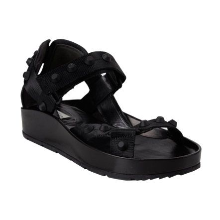 Balenciaga Arena Ankle-Strap Sandals at Barneys.com