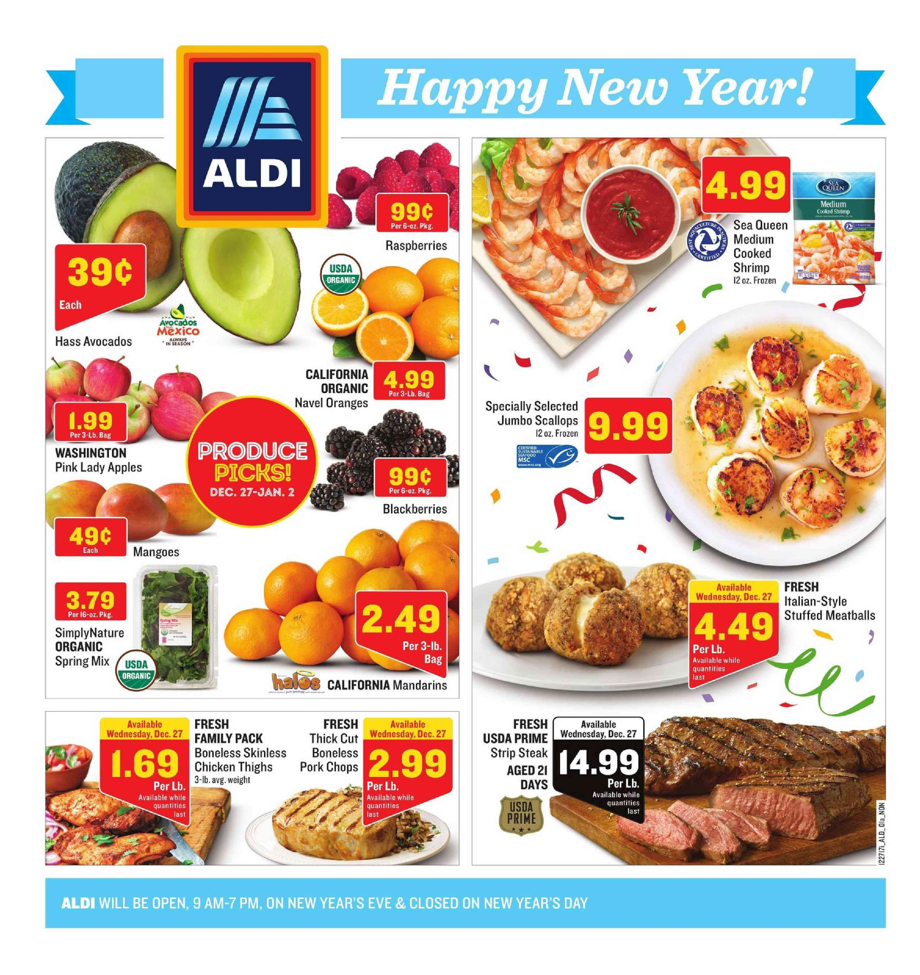 Aldi Weekly Ad January 31 February 6 2018 Browse Aldi Ad Specials And Weekly Fresh Meat Specials From Aldi Here Find Digital Cou Aldi Bakery Menu Grocery