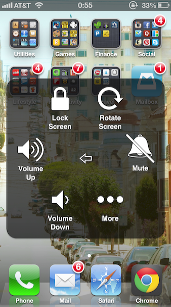 Iphone Hidden Tricks Ios Below How To Do A Screenshot On