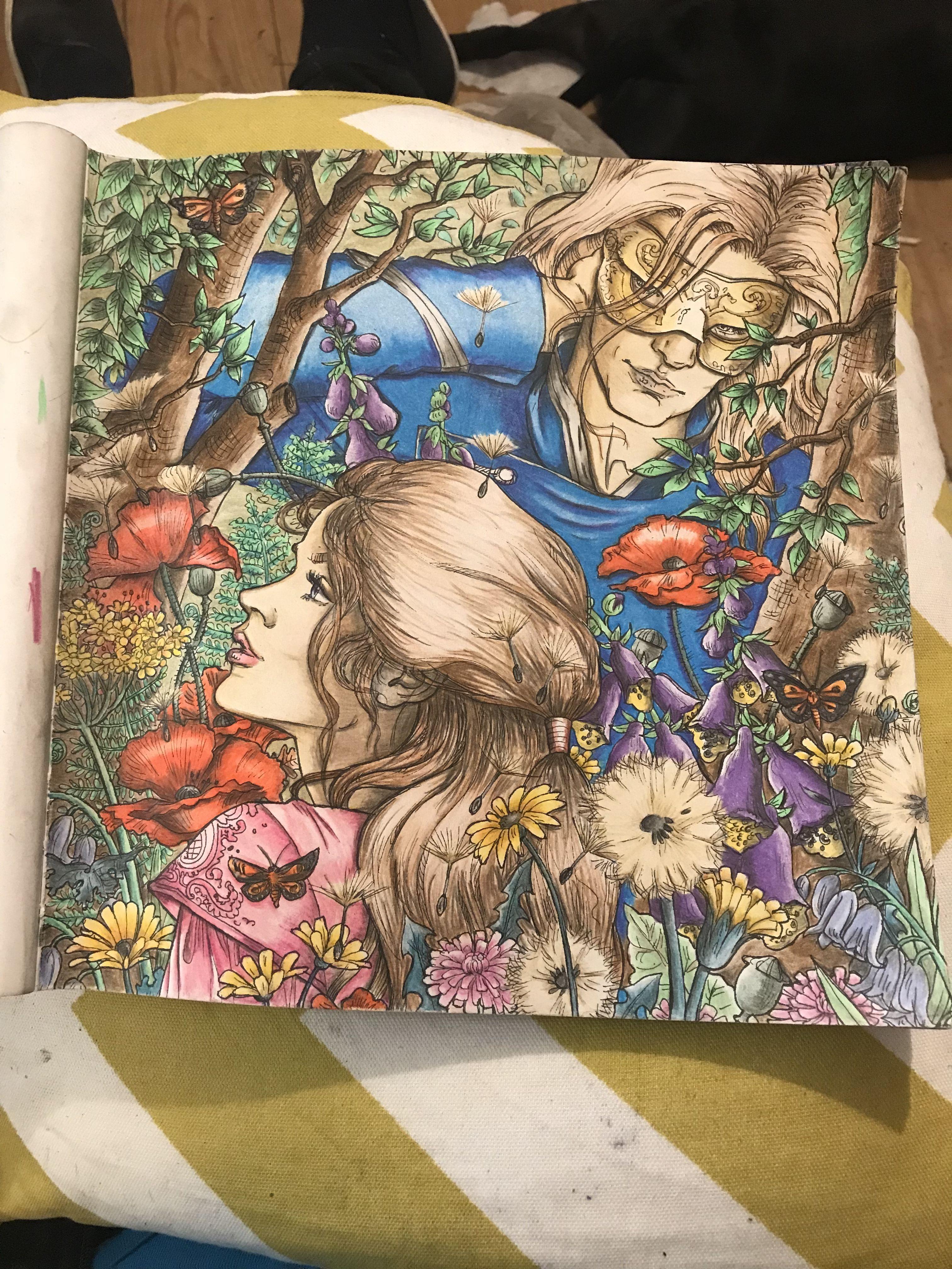 Feyre Cursebreaker Tamlin Tool Tampon Flowers Glen